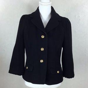 Juicy Couture Black Wool Jacket